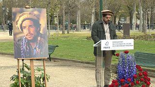 Homenagem ao líder da resistência afegã à ocupação soviética