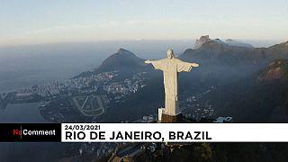 البدء في ترميم تمثال المسيح المخلص في البرازيل قبل الاحتفال بعيده التسعين