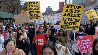 Demo in New York