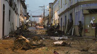 Ataque con coche bomba en Corinto, Colombia, el 26 de marzo de 2021