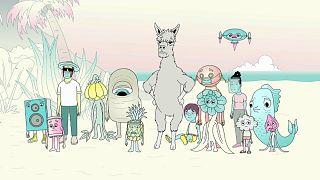 Pandemica est une mini-série animée en sept épisodes sous-titrés dans plusieurs langues dont le français.