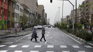 شهر تهران در دوران تعطیلات نوروزی