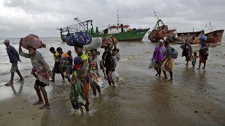 نزوح الآلاف من بلدة بالما شمال موزمبيق بعد سقوطها في أيدي جهاديين