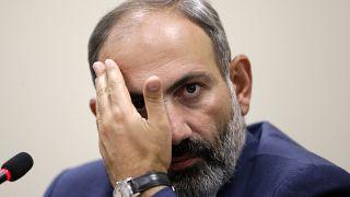 Le Premier ministre arménien Nikol Pachinian en 2018