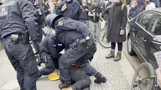 COVID-19 | Protestas contra las restricciones en Berlín