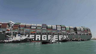 Le déblocage du canal de Suez en bonne voie, l'Ever Given est sorti du sable