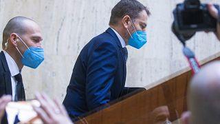 Политический кризис в Словакии