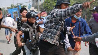 اعتراضها در میانمار