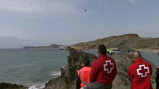 Operación de búsqueda en Mazarrón (Murcia) (Captura de pantalla)