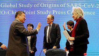 کارشناسان سازمان جهانی بهداشت در چین