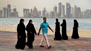 تصویری از دوحه پایتخت قطر