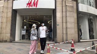 Loja da H&M em Xangai