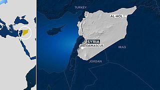 La mappa del campo di Al-Hol.