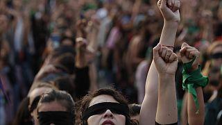 Mulheres mexicanas denunciam falta de justiça