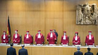 The German Federal Constitutional Court back in June 2018.