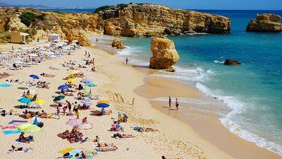 Praia de São Rafael, Albufeira, Portugal