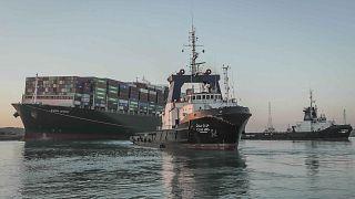Se reanuda el tráfico marítimo en el canal de Suez tras el reflote del Ever Given