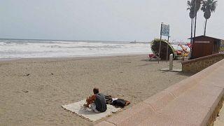 Una playa del sur de España