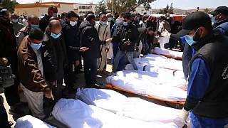 Alleged victims of Al-Kani militia buried in Libya's Tarhuna