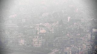 آلودگی هوا در کاتماندو