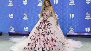 karol G en los Latin Grammy Awards, Miami, EEUU 19/11/2020