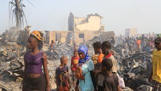 Sierra Leone appeals for aid for 7,000 victims of devastating fire