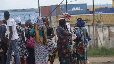 Mozambique : les réfugiés affluent à Pemba