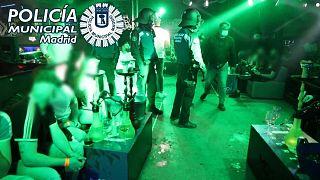 حفلات غير قانونية في مدريد