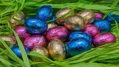 Eco-friendly Easter eggs