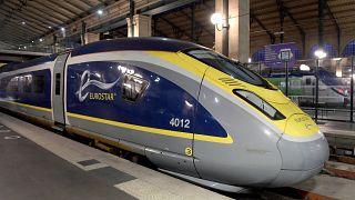 Eurostar est au bord de la faillite ; un train Eurostar en gare du Nord à Paris, le 10 décembre 2020