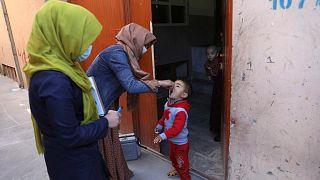 زنان در کمپین واکسیناسیون فلج اطفال در افغانستان فعالیت زیادی دارند