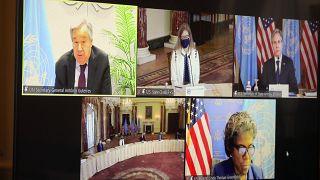 """""""Suriye ve bölgenin geleceğini desteklemek"""" konulu konferans çevrimiçi düzenlendi"""