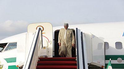 """Nigeria : le président Buhari à Londres pour une """"visite médicale"""""""