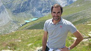 Roger Federer, ambassadeur du tourisme en Suisse - image : Suisse Tourisme