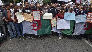 من المسيرة في العاصمة الجزائر