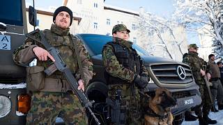 سربازان ارتش سوئیس