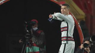 Cristiano Ronaldo's armband up for auction in Serbia