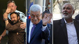 (1) Marwan Barghouti (2) Mahmúd Abbász, PFSZ (3) Iszmáíl Hanije, Hamász - megbüntetik-e a palesztin választók a két nagy párt korrupcióit?