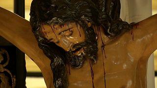 """Exposición """"In Nomine Dei"""" con imágenes de la Semana Santa en Sevilla"""