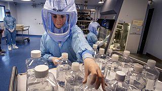 Impfstoff-Herstellung in Marburg