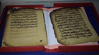Un manoscritto dei mausolei di Timbuktu