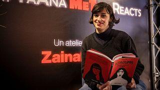 فنانة الكاريكاتيرية المغربية والناشطة زينب فاسيكي