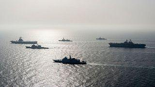 ناو هواپیمابر «شارل دوگل» در خلیج فارس