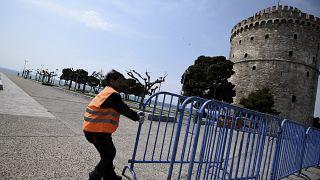 Thessaloniki corona measures