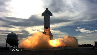 پرتاب آزمایشی موشک پروژه استارشیپ