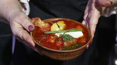 The world-famous beetroot soup Borscht has been officially nominated by Ukraine's for UNESCO's Intangible Cultural Heritage