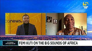 Femi Kuti congratulates Burnaboy, Wizkid for grammy win, speaks on music in Africa