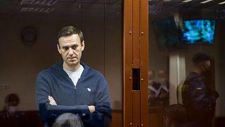 الکسی ناوالنی در دادگاه (عکس از آرشیو)