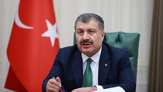 Sağlık Bakanı Fahrettin Koca, Bilim Kurulu toplantısının ardından İngiliz varyantının Türkiye'deki vakaların yüzde 75'ine ulaştığını açıkladı.