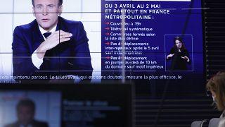 Alocução do presidente francês Emmanuel Macron